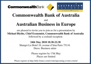 Commonwealth Bank Economic Presentation