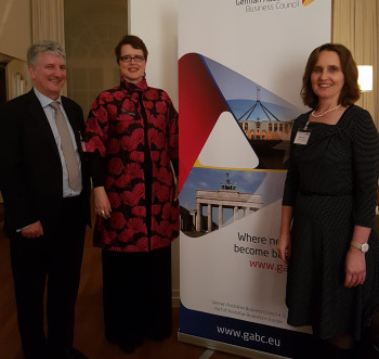 GABC Christmas Reception with the Sydney Symphony Orchestra, Frankfurt, Dec 2018
