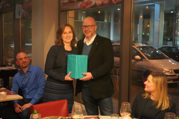 Farewell Dinner for GABC Patron, Richard Leather- Frankfurt, March 2019