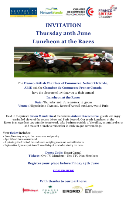 Luncheon at the Races | 20 June 2019