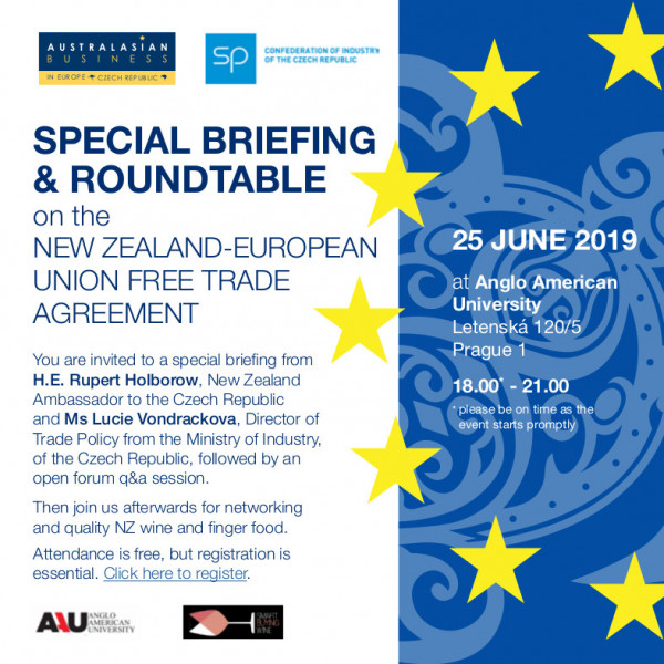 Briefing on the NZ-EU Free Trade Agreement