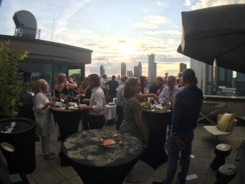 Summer Networking featuring Barramundi on the Barbie- Frankfurt