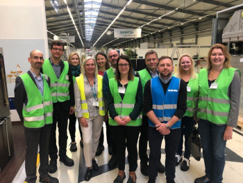 Siemens Factory Tour, September 2019, Frankfurt