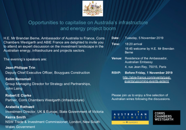 Opportunities to capitalise on Australia's infrastructure & energy project boom