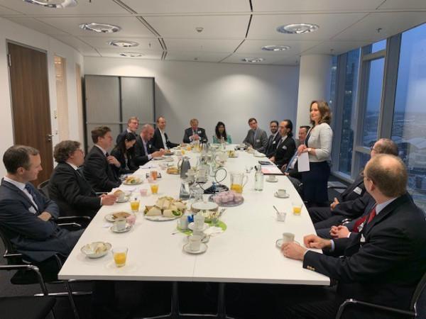 End of Year Breakfast Briefing, December 2019, Frankfurt