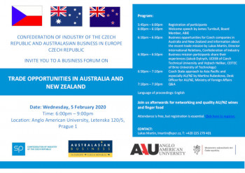 Trade Opportunities in Australia and New Zealand