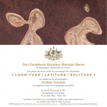 ABIE France: Australian bushfire relief fundraising auction by ABIE in association with the Australian Embassy, 28 January 2020