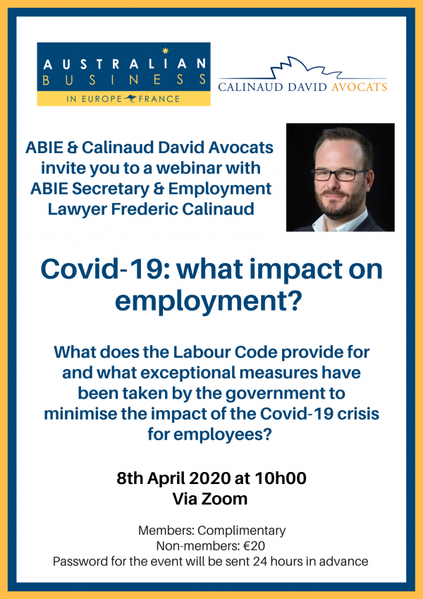 Covid-19 - what impact on employment?