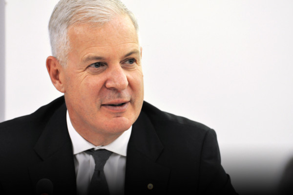 John W. H. Denton AO, ICC Secretary General on ICC's global engagement to mobilise business in the fight against COVID-19, a joint online Zoom event presented by the German Australian Business Council and Australian Business In Europe- France