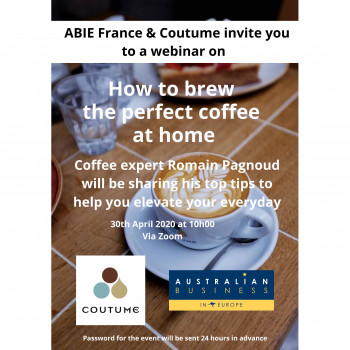 ABIE France: How to brew the perfect coffee at home with Coutume Cafe