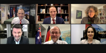 Three sides of a coin: fresh perspectives for 2021 from Germany, Ireland and Australia, Online, January 2021